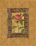 Rose Illumination I Posters by Merri Pattinian