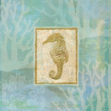 Seahorse II Print by John Zaccheo
