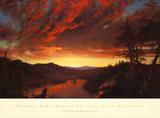 Twilight in the Wilderness, c.1860 Poster av Frederic Edwin Church