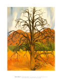 Dead Pinon Tree Prints by Georgia O'Keeffe