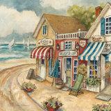 Ocean Village II Posters par Charlene Winter Olson