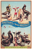 Forepaugh and Sells Brothers Circus Masterprint