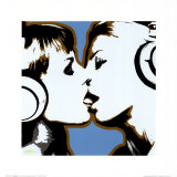 The Kiss Print by Steez 