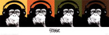Monkey Quad Pôsters por Steez