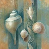 Ocean Treasures I Prints by Elaine Vollherbst-Lane