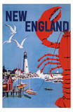 New England- Go Greyhound Masterprint