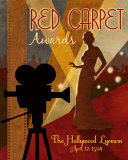 Red Carpet Awards Posters by Conrad Knutsen