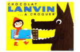 Chocolat Lanvin Masterprint