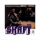 Isaac Hayes- Shaft Posters