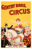 Genttry Brothers Circus Masterprint