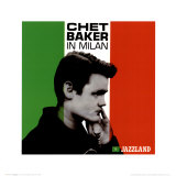 Chet Baker in Milan Prints