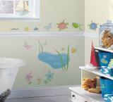 Hoppy Pond Wall Decal