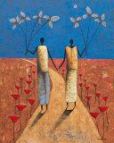 En Chemin Posters by Michel Rauscher
