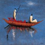 Eau Calme Print by Michel Rauscher