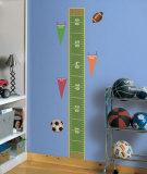 Play Ball Growth Chart Wandtattoo