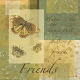 Butterfly Dreams: Friends Posters by Grace Pullen