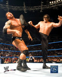 Great Khali vs Battista Photo
