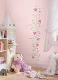 Fairy Princess Growth Chart Wandtattoo