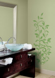 Leaf Scroll Wall Decal