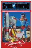 Space Age- Space Camping Masterprint