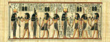 Egyptian Papyrus, Design II Pster