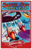 Space Age- Super Fun Space Race Masterprint