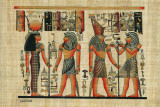 Egyptian Papyrus, Design III Prints
