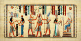 Egyptian Papyrus, Design VIII Art