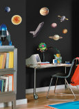 Space Travel Wall Decal