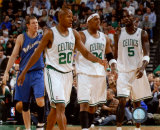 Ray Allen, Paul Pierce and Kevin Garnett Photo
