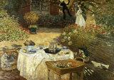Claude Monet - Le Dejeuner - Reprodüksiyon