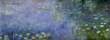 Nymph&#233;as II Affiches par Claude Monet