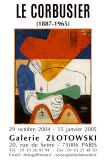 Galerie Zlotowski, 2004 Prints by  Le Corbusier