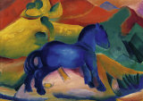 Blue Horses Poster by Franz Marc