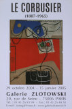 Galerie Zlotowski, 2004 Posters par Le Corbusier 