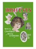 Irish Eyes Poster