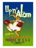 Up N' Atom California Carrots Posters