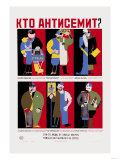 Who is the Anti-Semite Kto Anti Semit Posters