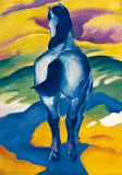 Blue Horse II Posters by Franz Marc