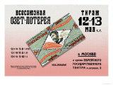 Biobidjan Lottery Ticket Prints by Khail O. Dlugach