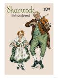 Shamrock Irish Arts Journal Plakaty