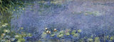 Waterlilies I Poster van Claude Monet