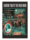 Dancing &#39;Neath the Irish Moon Print
