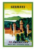 German Castle Prints