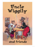 Uncle Wiggily and Friends: Pudding Print