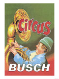 Circus Busch Posters