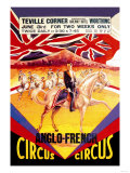 Anglo-French Circus Poster