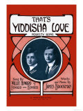 That's Yiddisha Love: Novelty Song Prints by Willie Howard