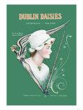 Dublin Daisies Poster