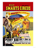 Billy Smart's New World Circus Print